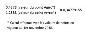 Fusion Agirc-Arrco